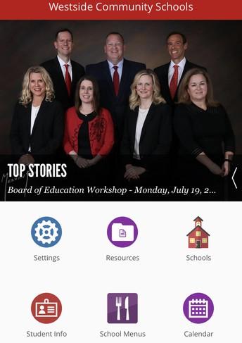Download the Westside Community Schools App!