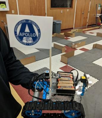 Apollo Competes In District Robotics Challenge