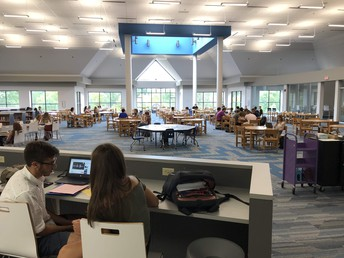 Hudson High School Media Center