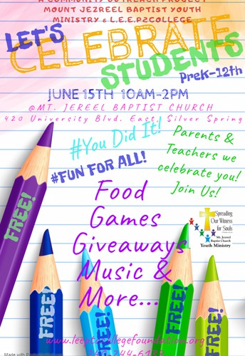 Join us on June 15th!  We celebrate you!