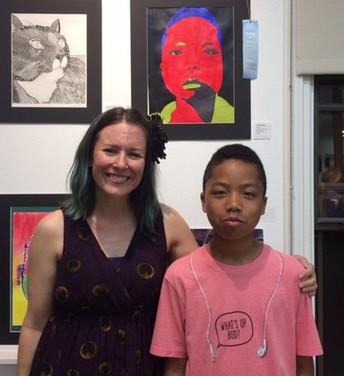Keshaun Hicks Recognized for Art