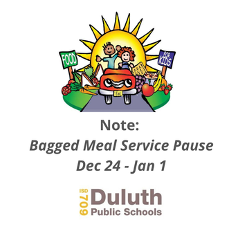 Bagged Meal Service Will Pause for Winter Break