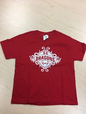 SC Dragons-Swirl Design T-Shirt