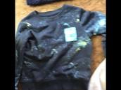 Cat&Jack speed of light shirt size 5t