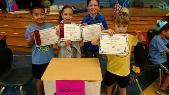 Mrs. Jackson's Battle of the Books Team