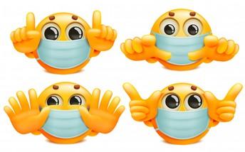 Masks, Hand Sanitizer and Social Distancing