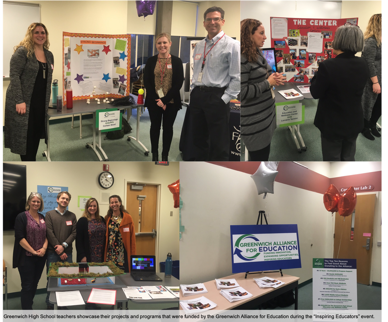Greenwich educators showcase their grant-funded programs