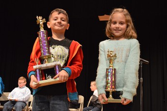 Primary Spelling Bee Winners