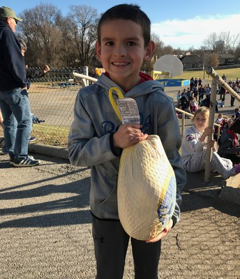 Lucky Winner of a Turkey!