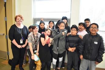 6th grade Mrs. Merritt's class--Team black
