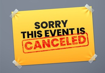 Trunk or Treat Canceled