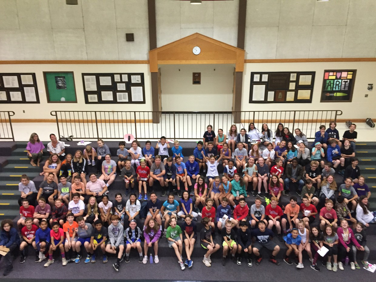 class of 2019 fifth graders--we will miss you!