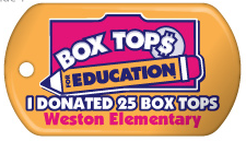 25 Box Tops for Education