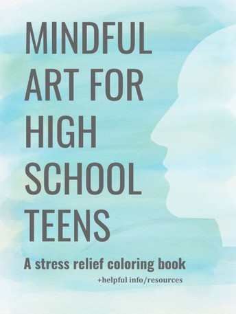 BHS Student Publishes Mindful Art Coloring Book