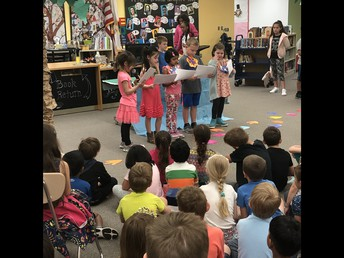 Our Graduating Kindergartners Perform