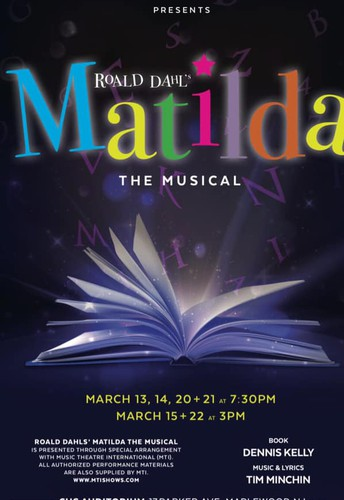 CHS:  Matilda the Musical - TICKETS NOW AVAILABLE!