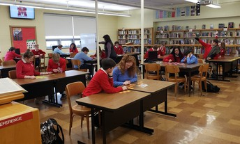 Student collaboration in the library