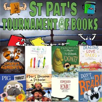 ST. PAT'S TOURNAMENT OF BOOKS