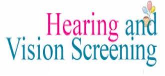 Hearing & Vision Screenings