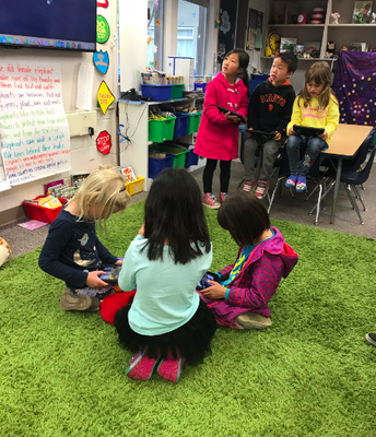 Quizlet Live - Practicing Math Skills in 1st Grade