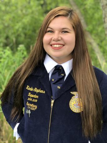 Officer Spotlight: Karlie Stephens, Mapleton FFA President