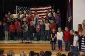 RBES recognized the importance of Veterans' Day!
