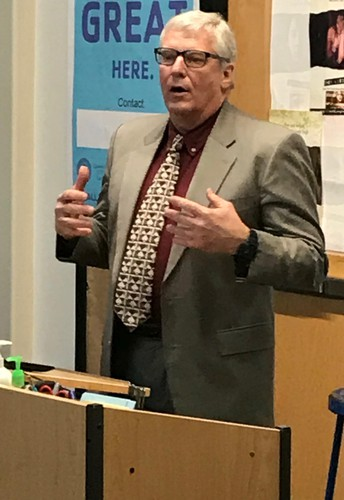 Harner, local officials, inform Realtors on area's real estate value