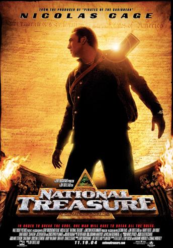 National Treasure Movie Night