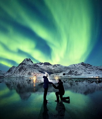 A trip to see the Northern lights.