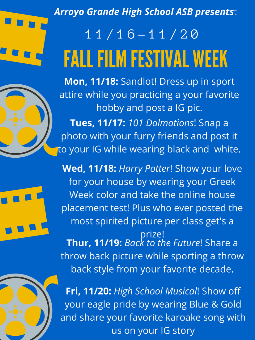 Fall Film Festival Activity