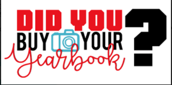 Last Chance to purchase LAST YEAR's 2019-2020 YEARBOOK