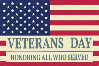 Veteran's Day Recognition Ceremony planned
