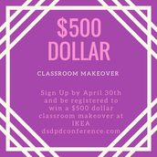 Win a $500 Classroom Makeover