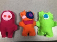 6th grade student's ugly monsters