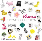 Spring Collection Charms