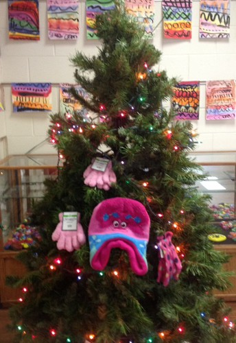 Giving Tree at DuJardin School