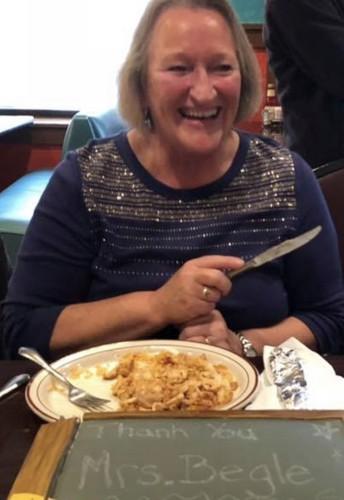 Happy Retirement, Mrs. Begle!!
