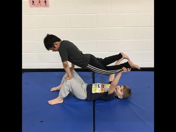 2L Practising balancing!