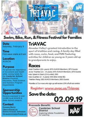 Family Triathlon & Fitness Festival