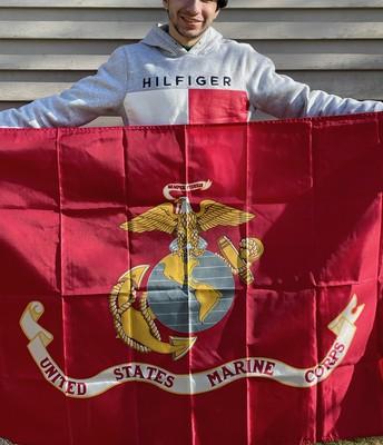 Thomas D'Ordine enters the Marine Corps!