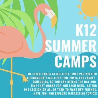 K12 Summer Camps