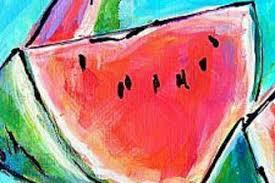 Watermelon Painting: