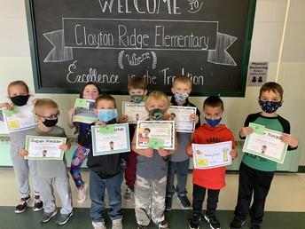 Kindergarten Award Winners