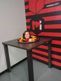 Mrs. Seals went to the House of Illusions!