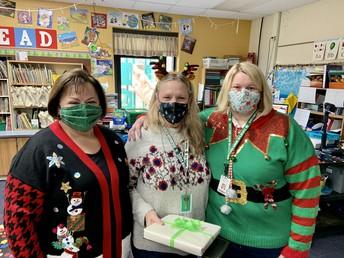 Mrs. Velie, Ms. Donaldson, & Mrs. Fulk