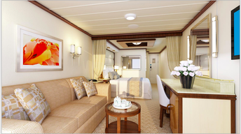 Regal Princess Mini Suite Stateroom
