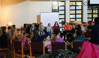 """Ministry of Caring """"Friday Chats"""" are student-led and give students a safe place to talk about issues that are important to them"""