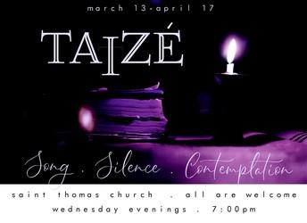 Taizé Tonight!