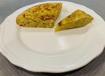 Tortilla de Tomás Roldán