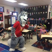 Spirit visited our classroom!